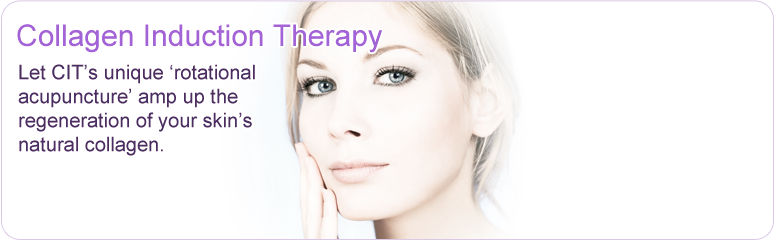Let Collagen Induction Therapy's unique rotational acupuncture amp up the regeneration of your skin's natural collagen