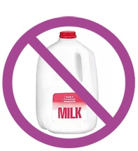 Milk is not an anti-aging food and is known to cause acne