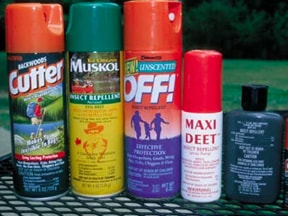 Lyme disease prevention : Bug spray!