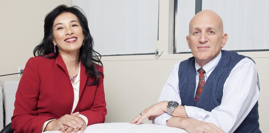Alice Pien, MD and Asher Milgrom, PhD - Founders of AMA Regenerative Medicine & Skincare