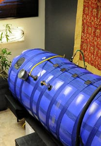 Hyperbaric oxygen chamber